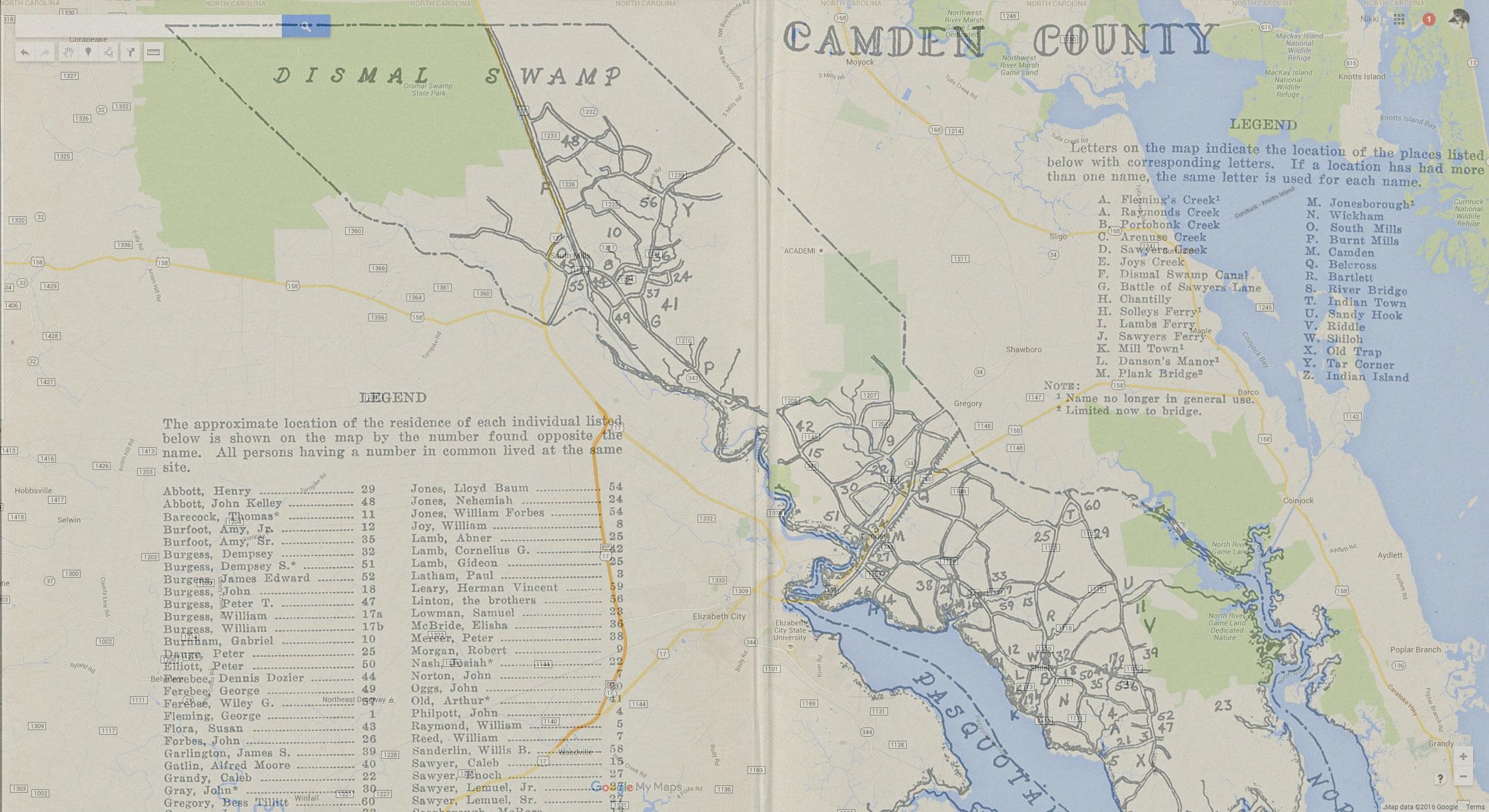 1700s Map Google Map Overlay