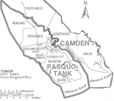Pasquotank-Camden Border