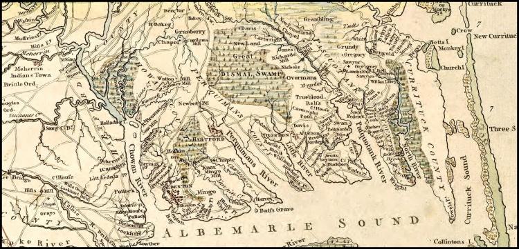 MAP-Capt-Collets-1770-North-Carolina-Map