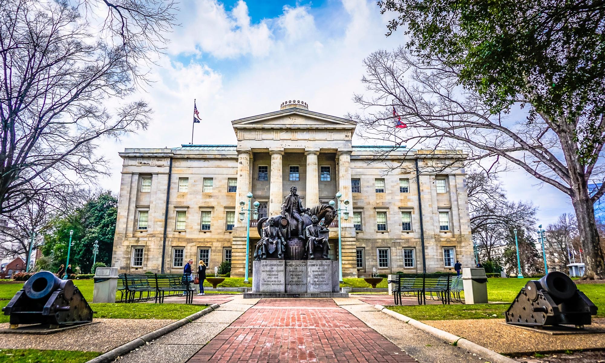 North Carolina Capitol in Raleigh