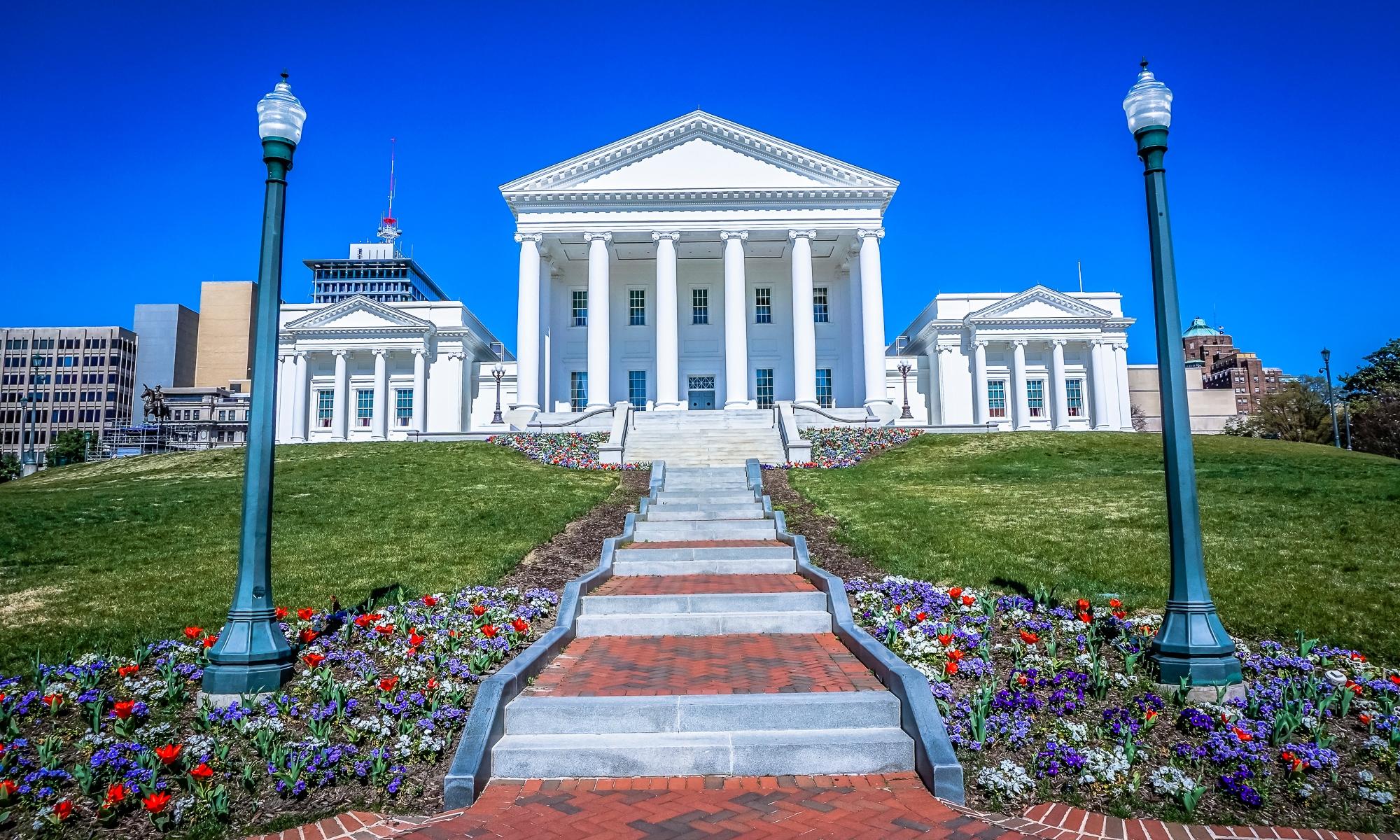 Virginia Capitol in Richmond