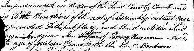 Andrew Newsom 1830