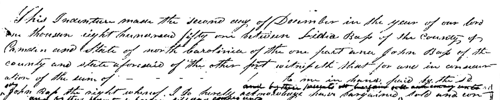 Lydia Bass John Bass 1851 Deed.png