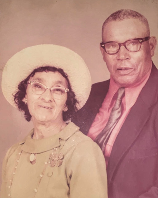 Blannie Price and Herman Hunt