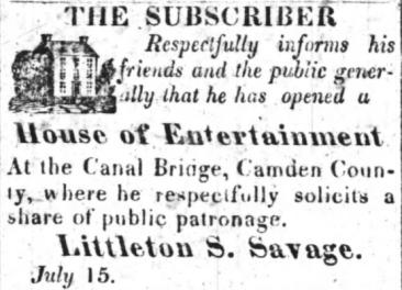 The Elizabeth-City Star and North-Carolina Eastern Intelligencer, 22 July 1826
