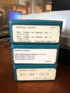 Norfolk County Positive Reels