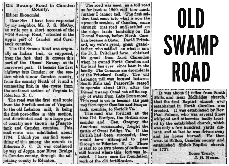 Old-Swamp-Road-Story