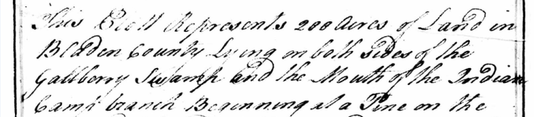 NC Land Grant No. 291