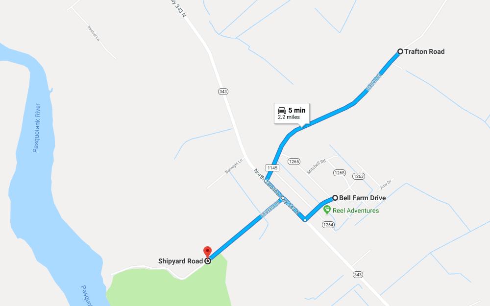 Trafton Road Map